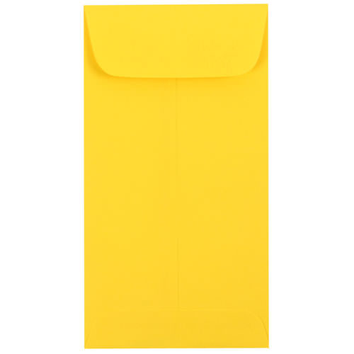 Yellow #7 Coin Envelopes - 3 1/2 x 6 1/2