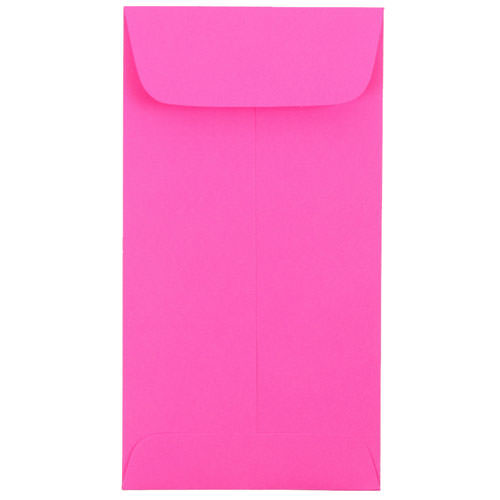 Pink #7 Coin Envelopes - 3 1/2 x 6 1/2