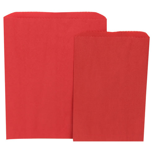 Red Merchandise Bags