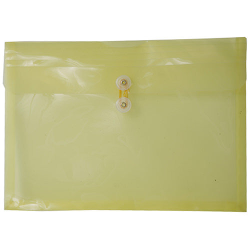 Yellow Legal Plastic Envelopes - 9.75 x 14.5