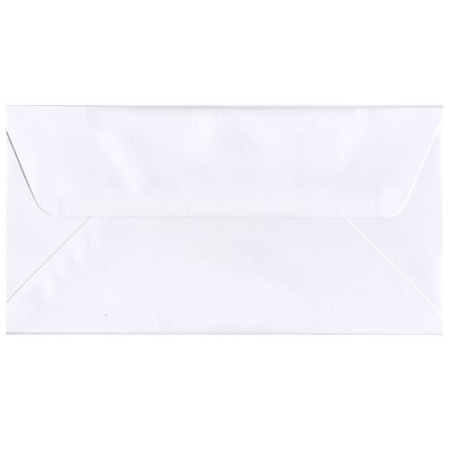 White #16 Envelopes - 6 x 12