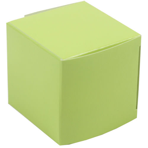 2 x 2 x 2 Lime Green Glossy Gift Box
