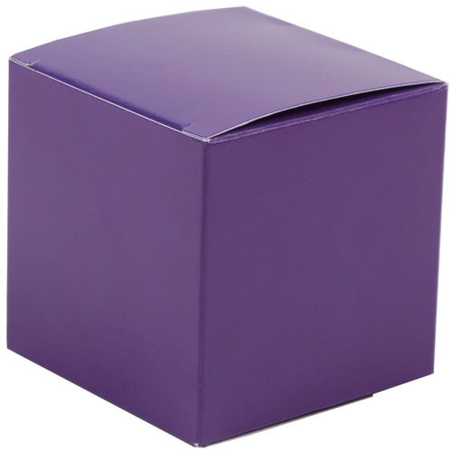 2 x 2 x 2 Purple Glossy Gift Box