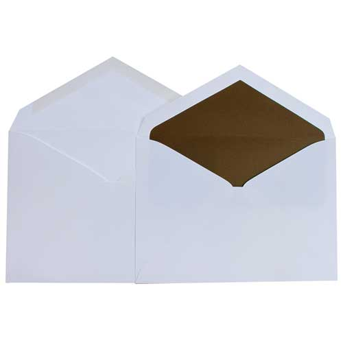 Brown 5 3/4 x 8 Envelopes