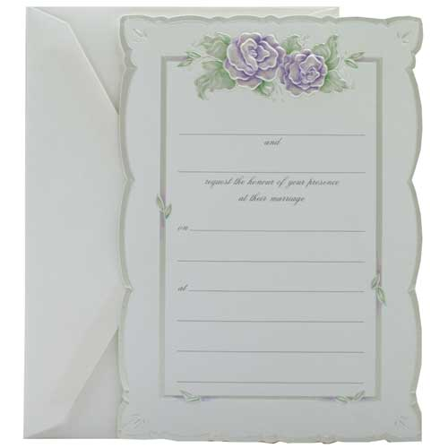 Fill-In Wedding Invitation Sets