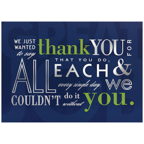 Blank Thank You Card Sets