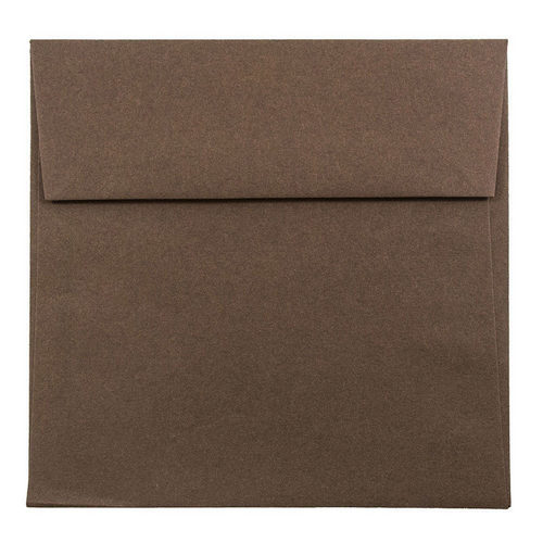 Brown 5 1/2 x 5 1/2 Square Envelopes
