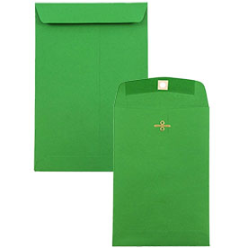 Green Clasp & Open End Envelopes