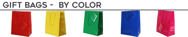 Gift Bags - By Color