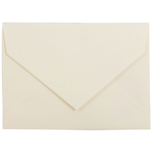 5 5/8 x 7 3/4 V-Flap Closeout Envelopes