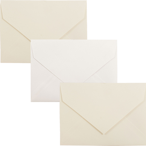 5 7/8 x 8 V-Flap Closeout Envelopes