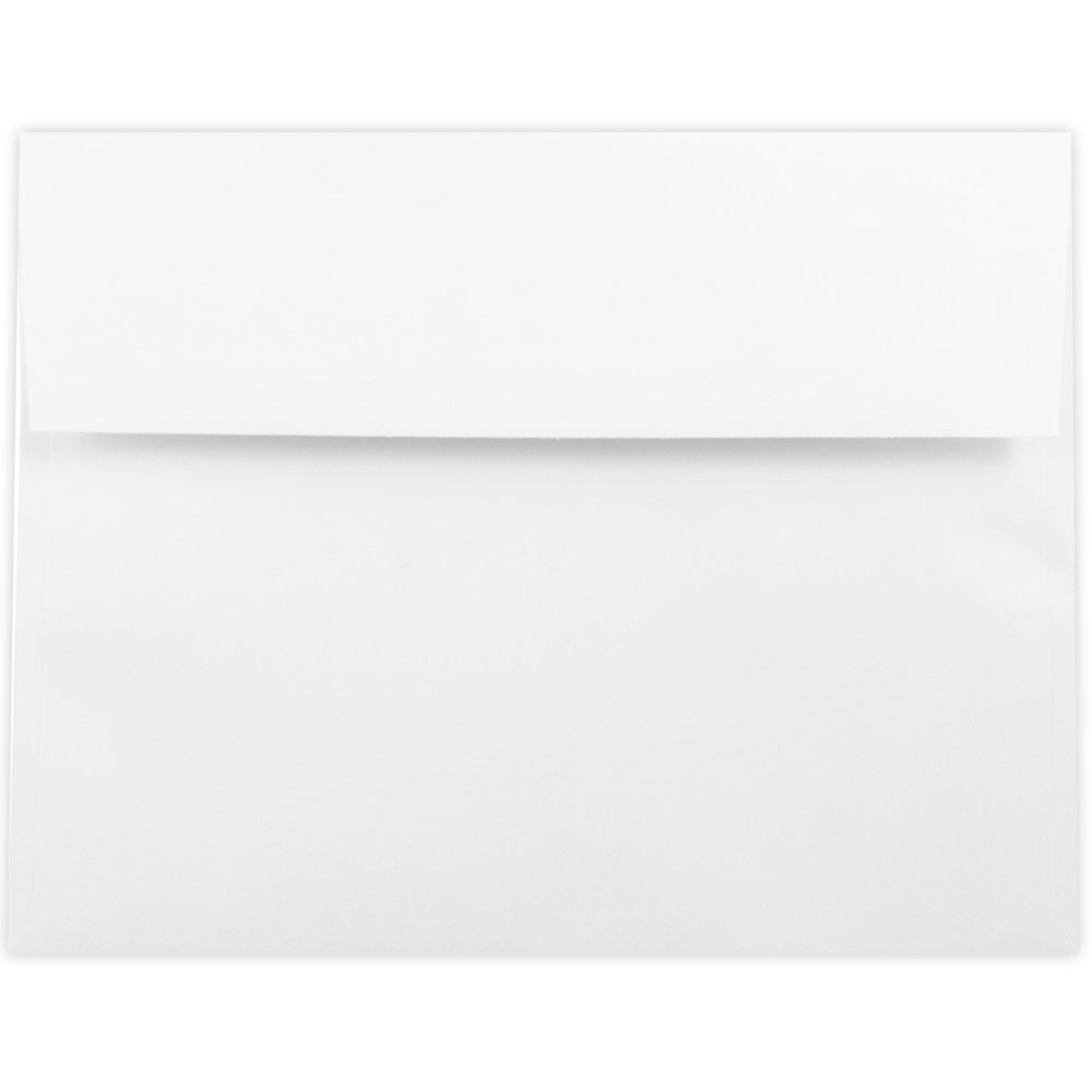 White 6 1/8 x 8 1/4 Envelopes