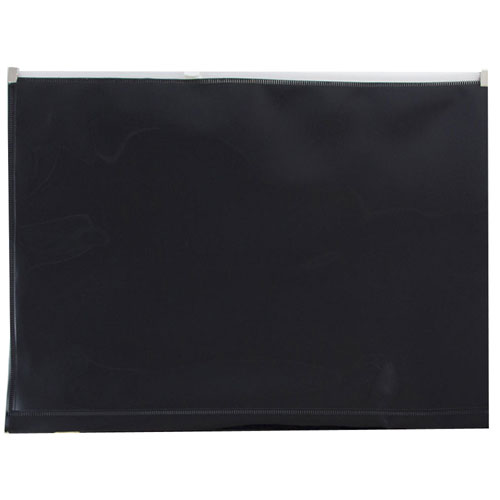 Black Plastic Zip Closure Envelopes