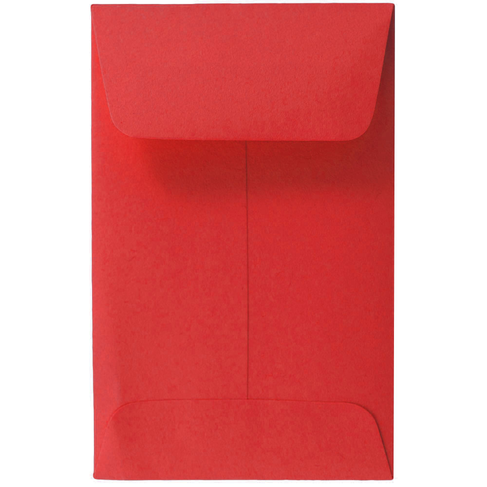 Red #1 Coin Envelopes
