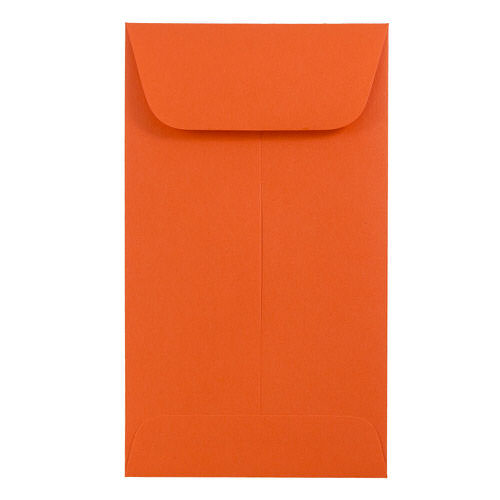 Orange #5 1/2 Coin Envelopes - 3 1/8 x 5 1/2