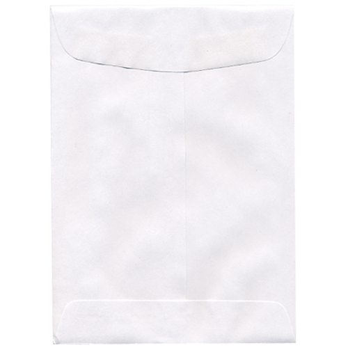 White 5 x 7 1/2 Envelopes