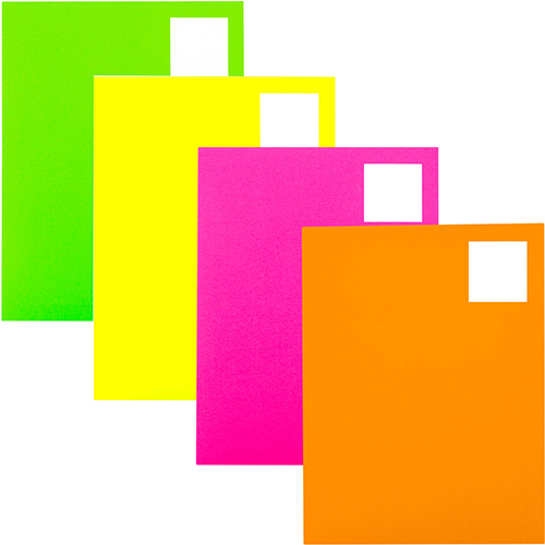 2 x 2 square color address labels jam paper