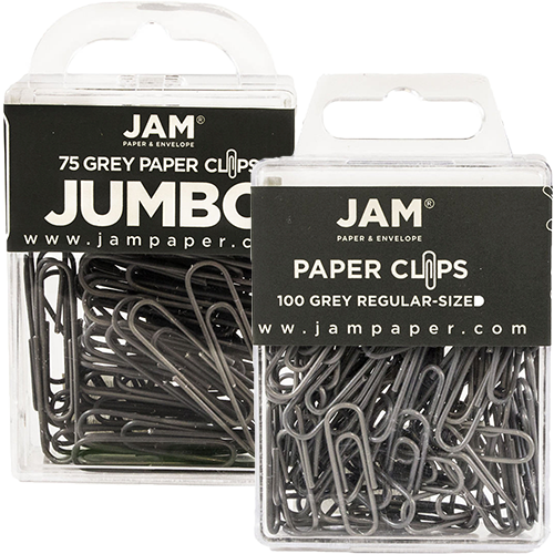 Grey Paperclips