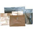 Gold Plastic Envelopes with Button String Closure - 2