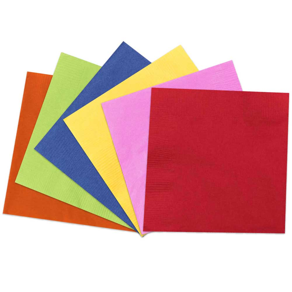 Color Paper Napkins