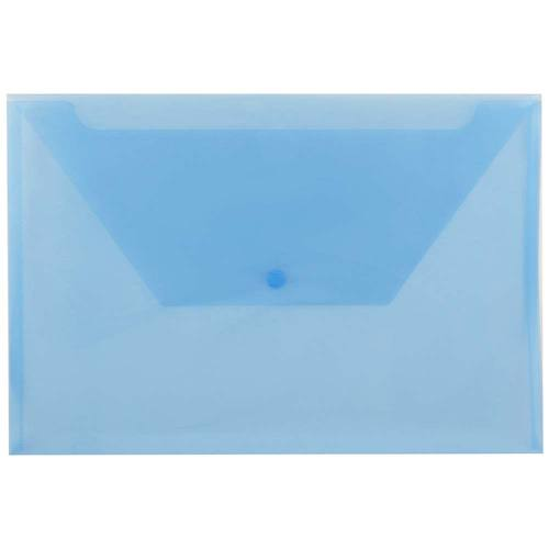 Blue Legal Plastic Envelopes - 9.75x14.5