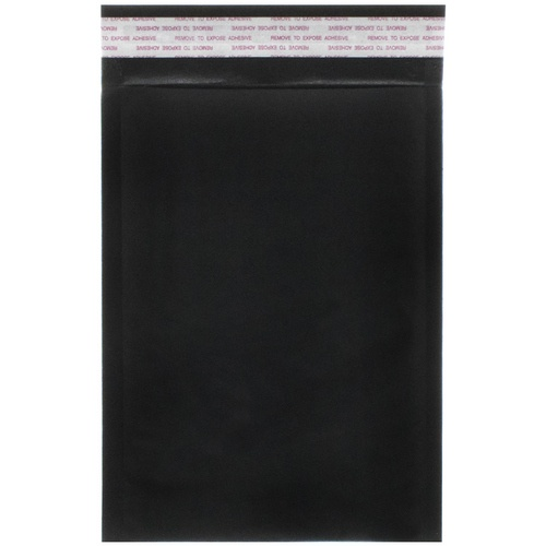 Black 5 x 8 1/2 Envelopes
