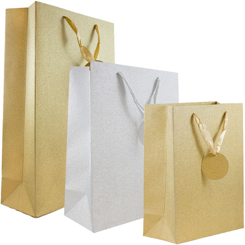 Glitter gift bags jam paper glitter gift bags negle Image collections