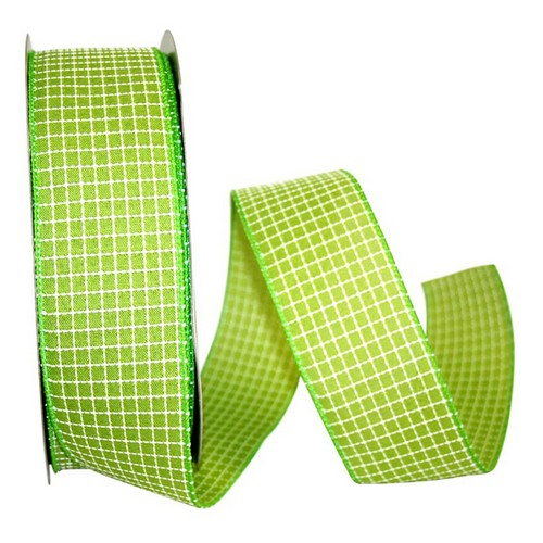 Green Saddle Linen Ribbon