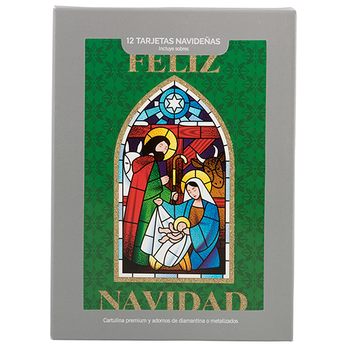 Deluxe Spanish Boxed Christmas Card Sets