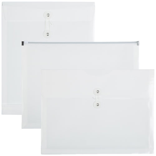 White Plastic Envelopes