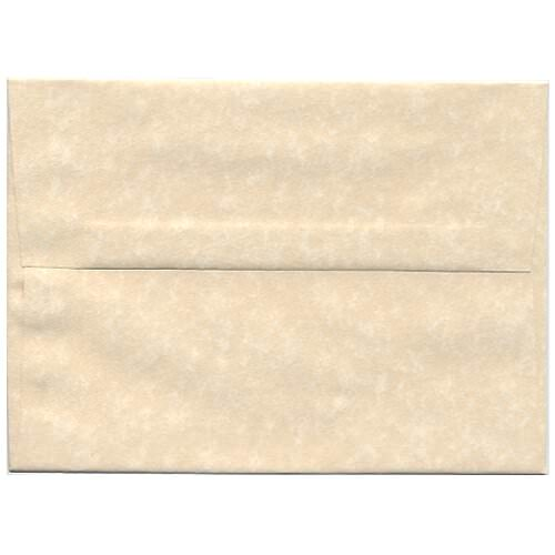 Natural Recycled Parchment Envelopes & Paper