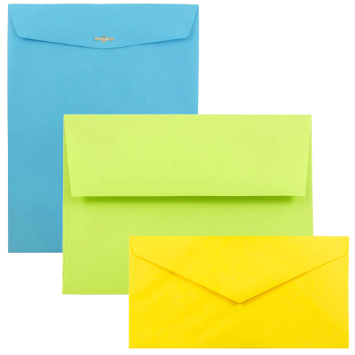 Brite Hue Recycled Envelopes & Paper