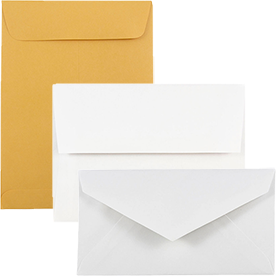White & Manilla Commercial Envelopes
