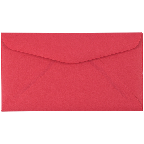 Red #6 3/4 Envelopes - 3 5/8 x 6 1/2