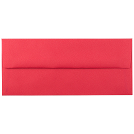 Red #10 Envelopes - 4 1/8 x 9 1/2