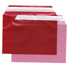 Red 5 1/16 x 7 3/16 Envelopes