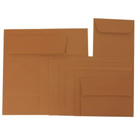 Dark Orange Envelopes