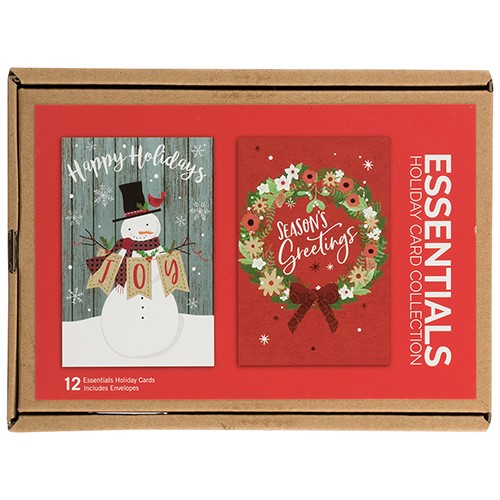 Essential Boxed Christmas Card Sets