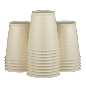 Ivory Plastic Cups