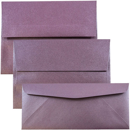 Ruby Stardream Metallic Envelopes & Paper