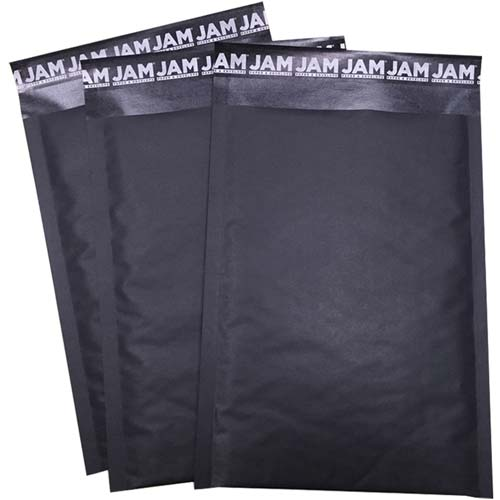 Black Kraft Bubble Lite Padded Envelopes