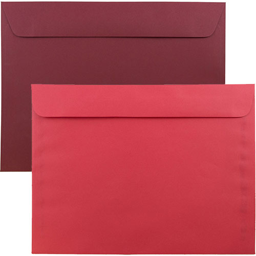 Red Large Booklet Envelopes