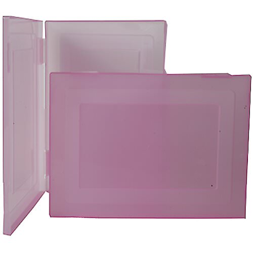 Closeout See Through Cases - 9 x 12.5 x 0.75