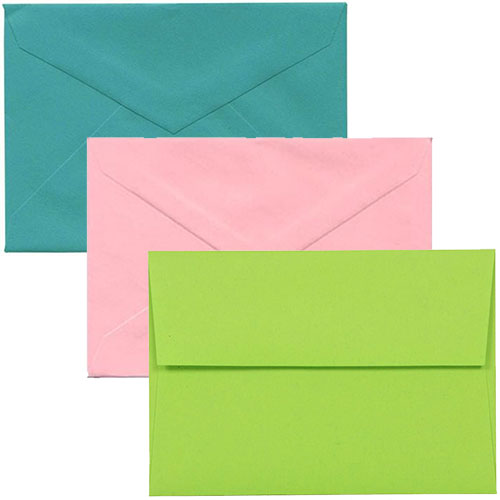4 Bar Closeout Envelopes
