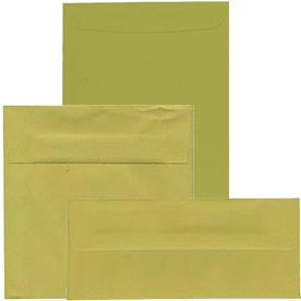 Olive & Chartreuse Envelopes