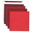 Red 8 1/2 x 8 1/2 Square Envelopes - 1