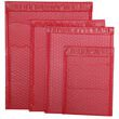 Red Matte Bubble Mailers - Self Adhesive Closure - 2