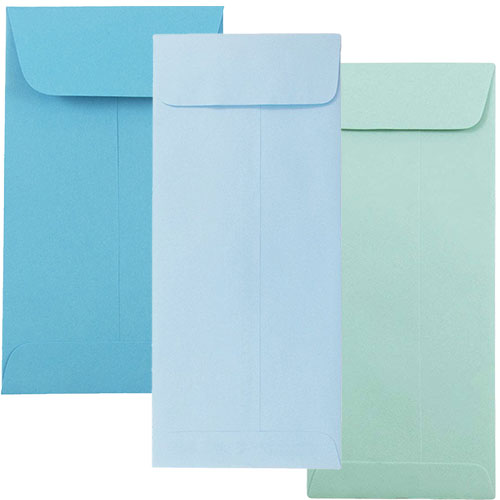 Blue Policy Envelopes