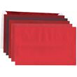 Red A10 Envelopes - 6 x 9 1/2 - 1