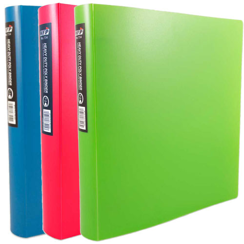 Heavy Duty 1.5 Inch Binders